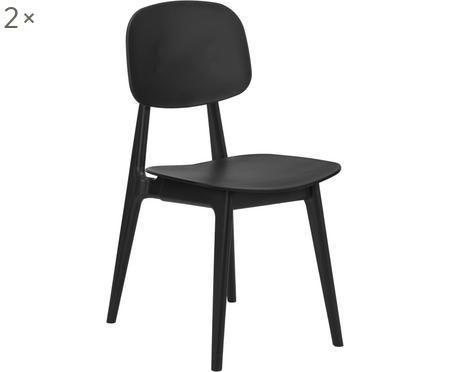 Plastová stolička Smilla, 2 ks