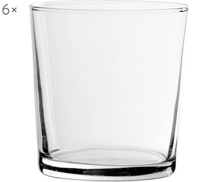Klasický pohár na vodu Simple, 6 ks