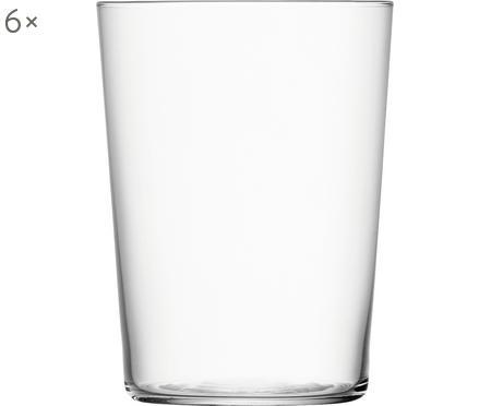 Pohár na vodu Gio, 6 ks