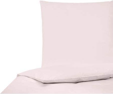 Posteľná bielizeň z bavlneného perkálu Elsie, bledoružová