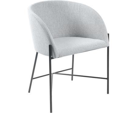 Čalúnená stolička s opierkami Nelson