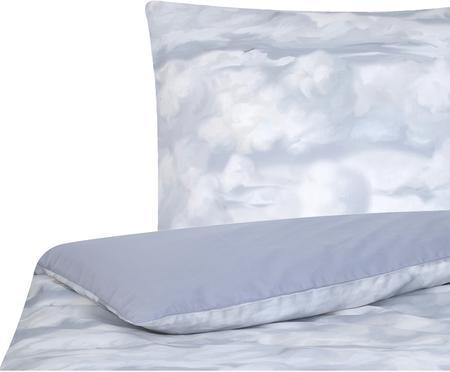 Posteľná bielizeň z bavlneného saténu Cloudy
