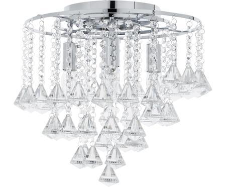 Stropná lampa so sklenenými krištáľmi Dorchester
