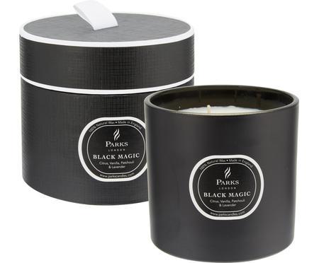 Vonná sviečka s tromi knôtmi Black Magic (Citrus a vanilka)