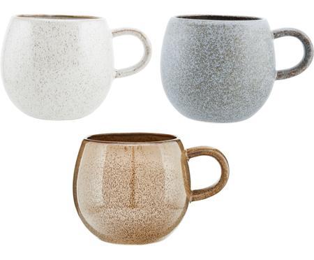Súprava ručne vyrobených čajových šálok Addison, 3 diely