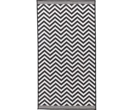 Obojstranný koberec do interiéru/exteriéru s kľukatým vzorom Palma