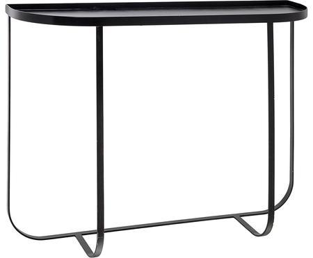 Kovový konzolový stolík Harper