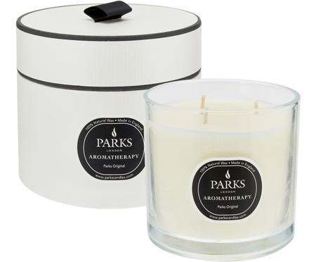 Vonná sviečka s tromi knôtmi Parks Original (Vanilka a citrusy)