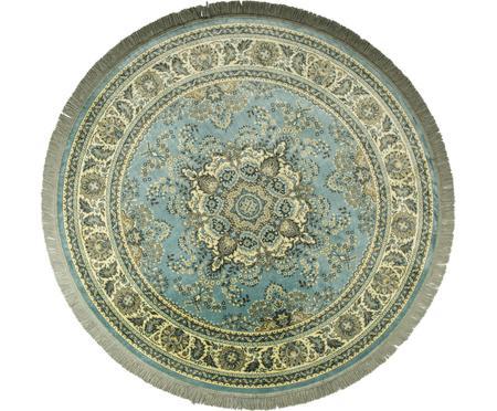 Okrúhly koberec vo vintage štýle so strapcami Bodega