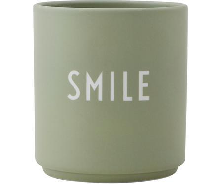 Dizajnérsky hrnček s nápisom SMILE Favourite