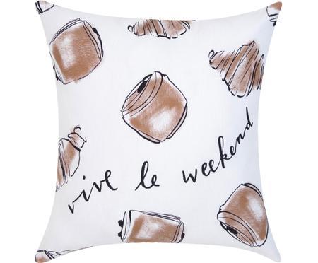 Dizajnový poťah na vankúš Croissant  od Kery Till