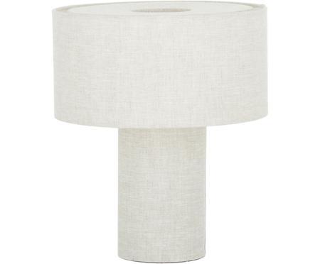 Malá stolová lampa z tkaniny Ron
