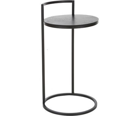 Okrúhly pomocný stolík z kovu Circle