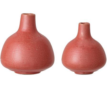 Súprava malých váz z kameniny Malina, 2 diely