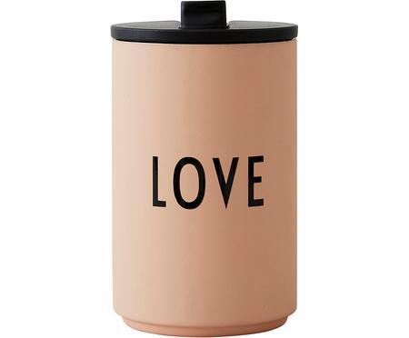 Dizajnový coffee-to-go hrnček s nápisom Favourite LOVE