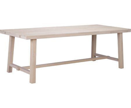 Väčší masívny jedálenský stôl Brooklyn