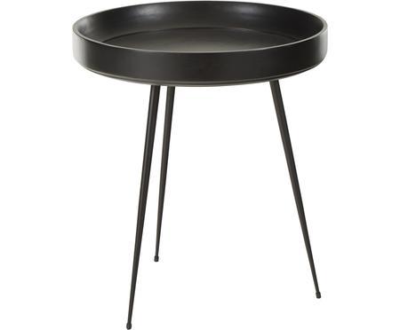 Dizajnérsky príručný stolík Bowl Table z mangového dreva