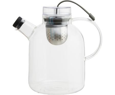 Dizajnová čajová kanvica zo skla Kettle, 1,5 l