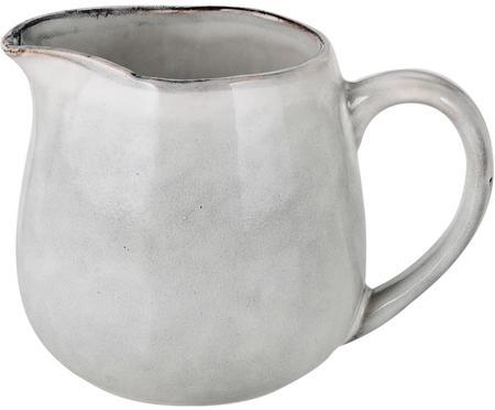Ručne vyrobená kanvička na mlieko z kameniny Nordic Sand, 300 ml