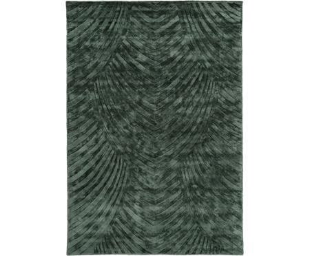 Ručne tuftovaný vzorovaný koberec z viskózy  Bloom