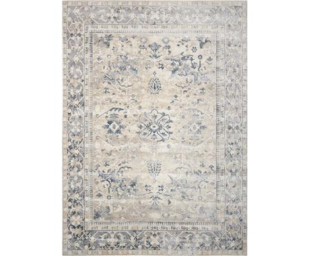 Vintage koberec Malta modrá/béžová