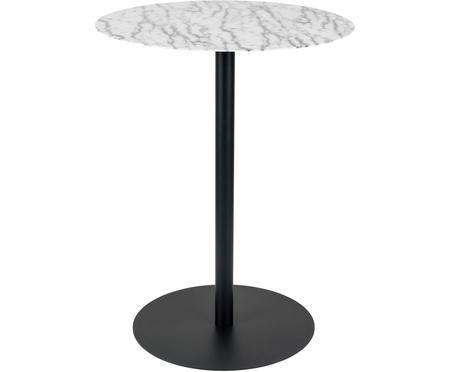 Okrúhly stolík Snow z kovu