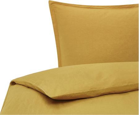 Ľanová posteľná bielizeň s vypraným efektom Nature
