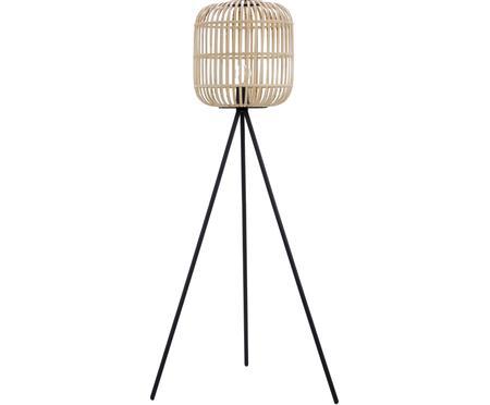 Stojacia boho tripod lampa Bordesley