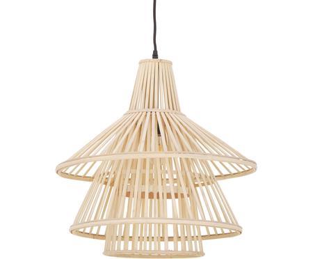 Závesná bambusová lampa Kamil