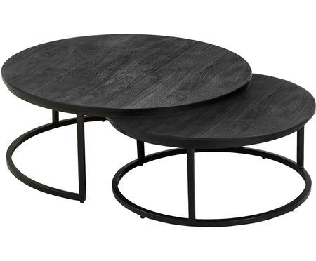 Súprava konferenčných stolíkov z mangového dreva Andrew, 2 diely