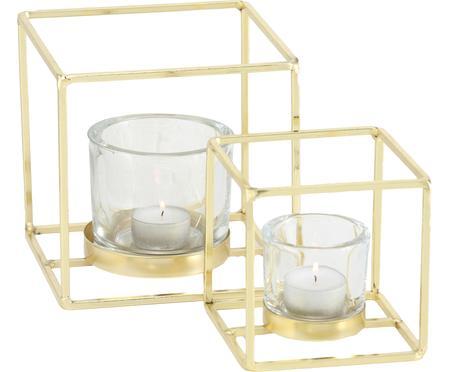 Svietnik na čajovú sviečku Pazo, 2 diely
