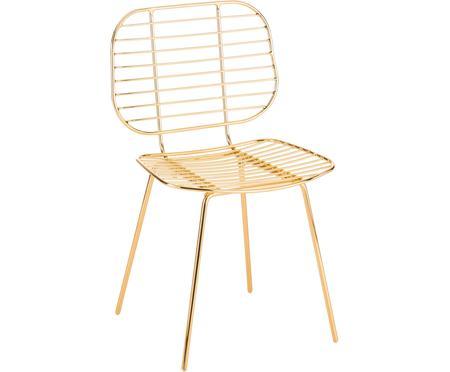 Kovová stolička Chloé