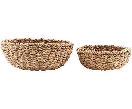 Súprava košov na chlieb z morskej trávy Tango, 2 diely