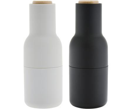 Mlynčeky na soľ a korenie s dreveným vrchnákom Bottle Grinder