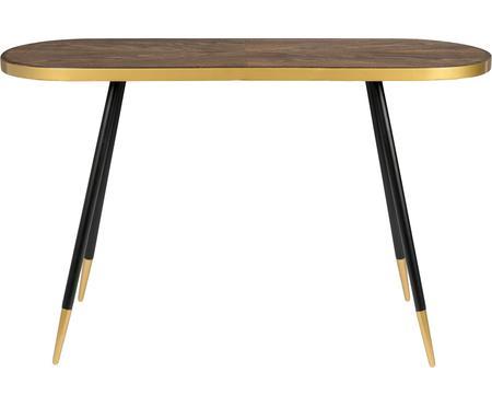 Konzolový stolík s oválnou doskou Denise