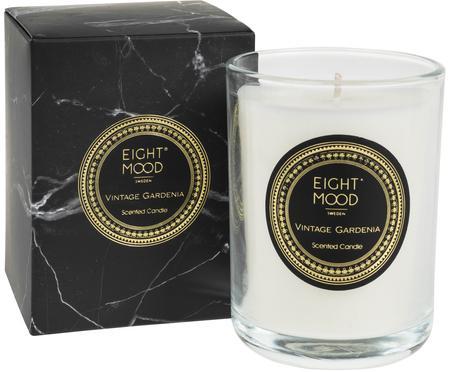 Vonná sviečka Black Marble (gardénia)