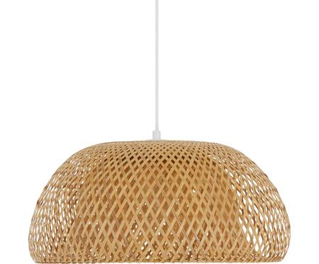 Dizajnová závesná lampa z bambusu Eden