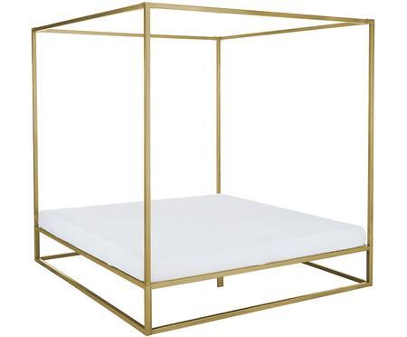Kovová posteľ s baldachýnom Belle