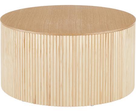 Drevený konferenčný stolík s úložným priestorom Nele