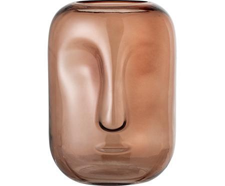 Sklenená váza Face