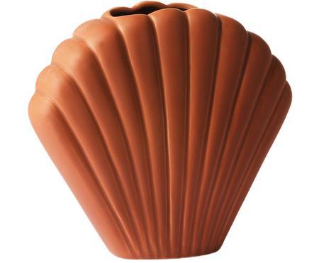 XS váza z kameniny Shell