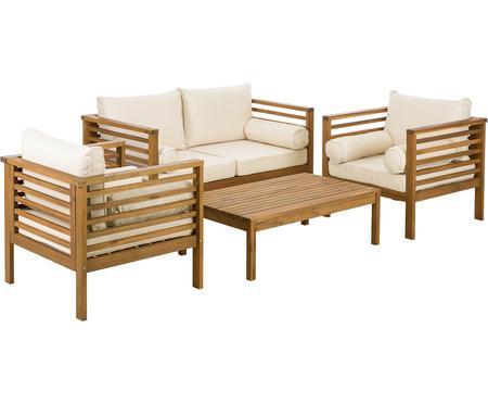 Záhradná sedacia súprava Bo, 4 diely