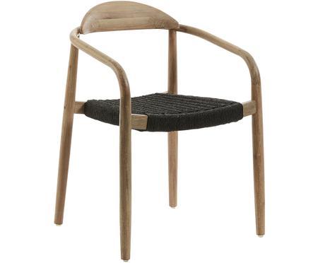 Stolička s opierkami z masívu Nina