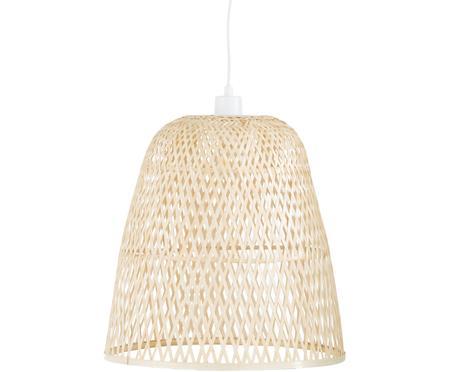 Ručne vyrobená závesná lampa z bambusu Eve