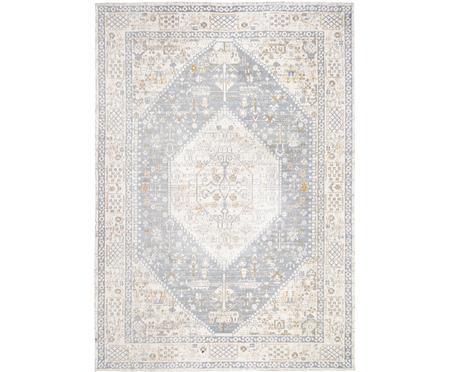 Ručne tkaný ženilkový vintage koberec Neapel