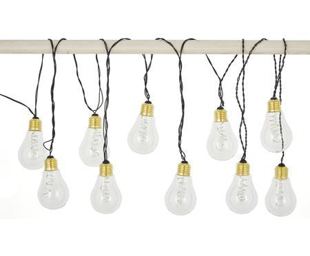 Svetelná LED reťaz Bulb, 360 cm, 10 lampiónov