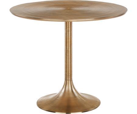 Okrúhly stôl Hypnotising, odtiene zlatej
