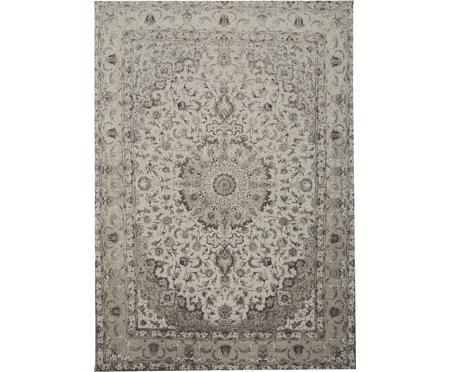 Ručne tkaný ženilkový vintage koberec Sofia