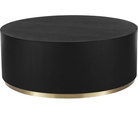 Veľký konferenčný stolík v čiernej farbe Clarice