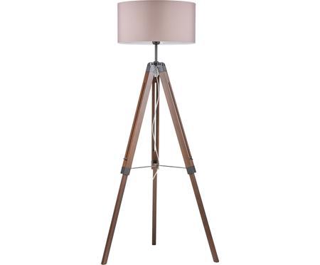 Stojacia lampa z orechového dreva Josey